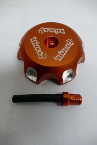Tank Deckel Caps Aluminium Orange für Honda XR50// GTC XR50 //CRF50 Motocross T1