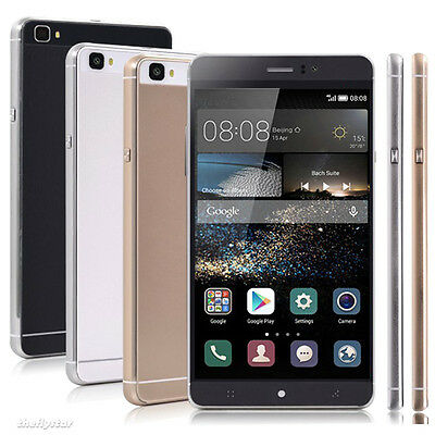"Unlocked 6.0""Android 5.1 Quad Core 2Sim Mobile Phone 3G Cellphone GPS GSM AT&T"
