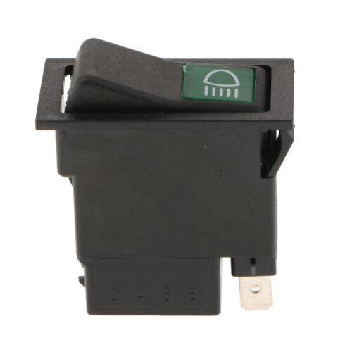 2 x 2 3pin Ein-Aus Drucktaste Wippschalter Für Auto Lkw Nebelscheinwerfer
