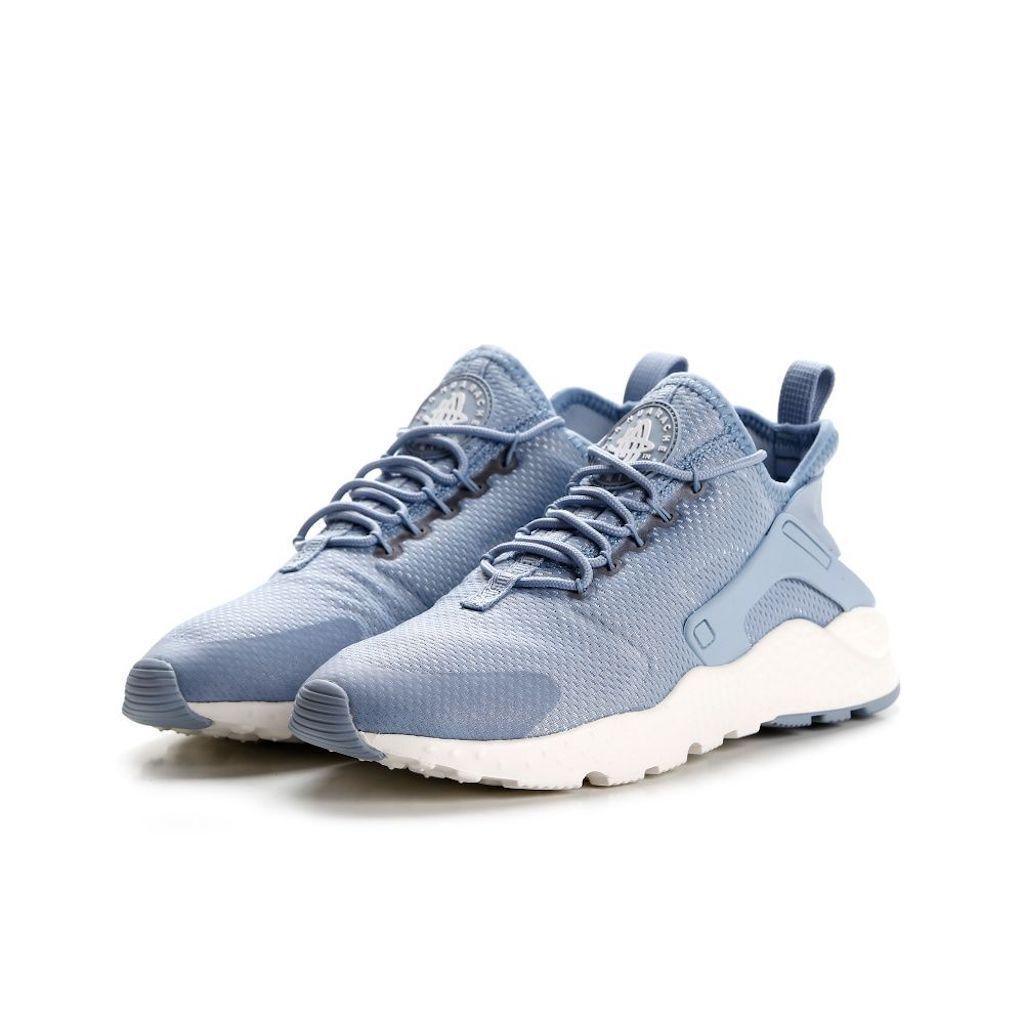 femmes  Nike Air Huarache Ultra, bleu  Gris  (819151-402)