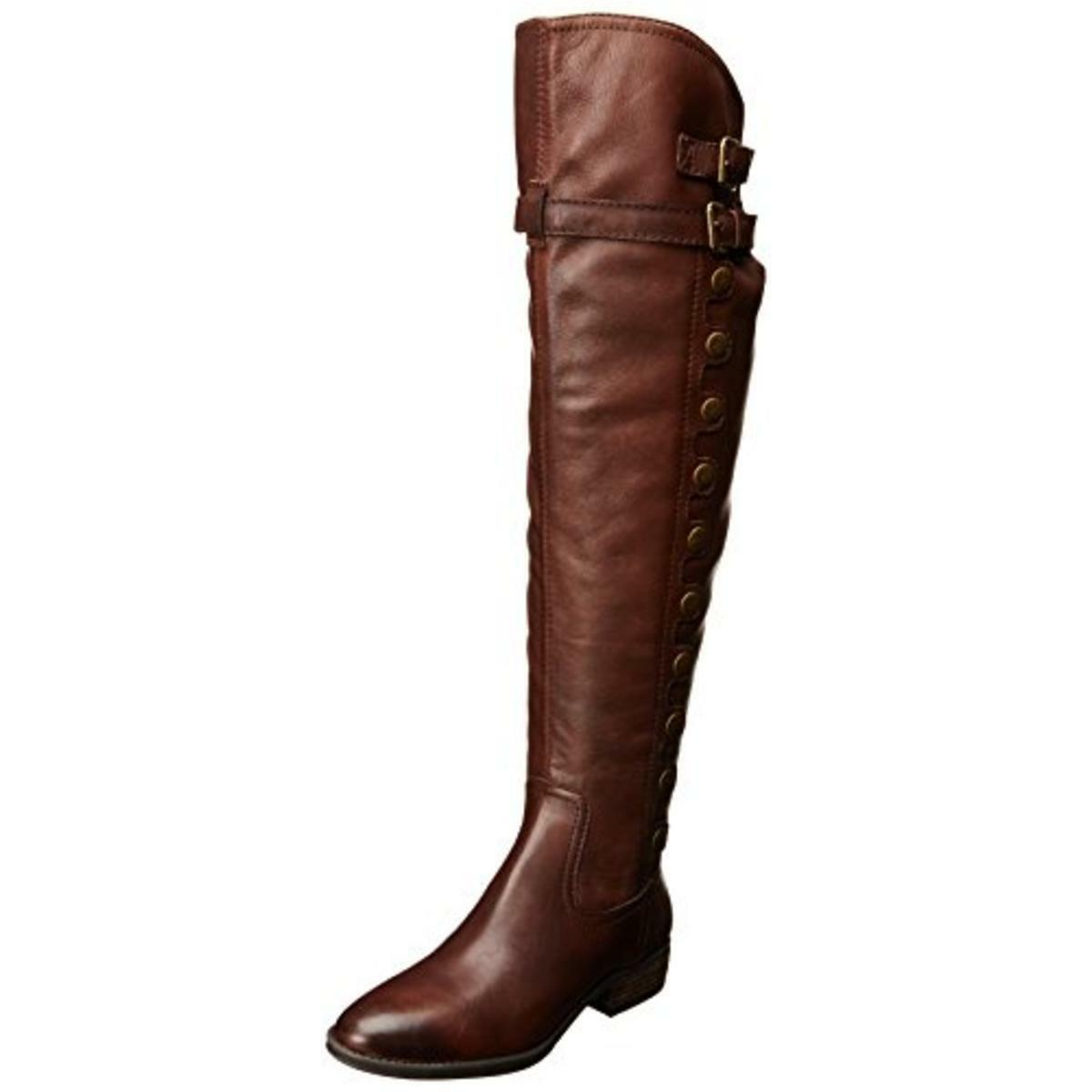 Sam Edelman  Womens Pierce 2 Brown Riding Boots shoes 6 Medium Retails  320.00
