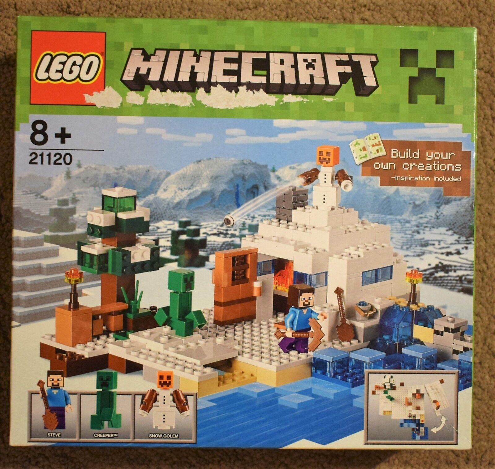 LEGO 21120 Minecraft COFANETTO giocattolo di costruzione con figure