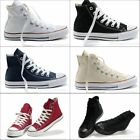 Chic Men Women Canvas Flat Casual Shoe High Top Multi-Color Loafer Sneaker Shoes