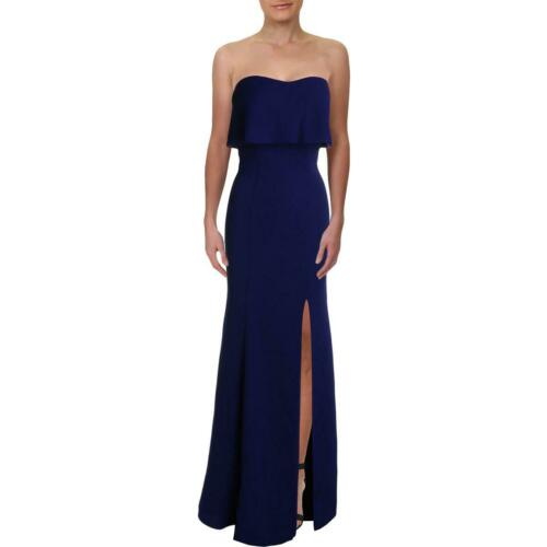 Xscape Womens Strapless A-Line Formal Evening Dress Gown BHFO 1386