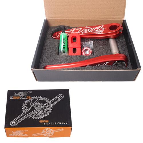 SNAIL GXP 170mm Crank 30-34T Chainwheel MTB Bike Chainring Sprocket Crankset CNC