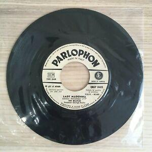 The-Beatles-Lady-Madonna-The-Inner-Light-Vinile-45giri-7-034-Parlophon-Juke-Box
