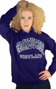 Scotland Large Top Hoodie Purple Womens Edinburgh zqZSx4nUw