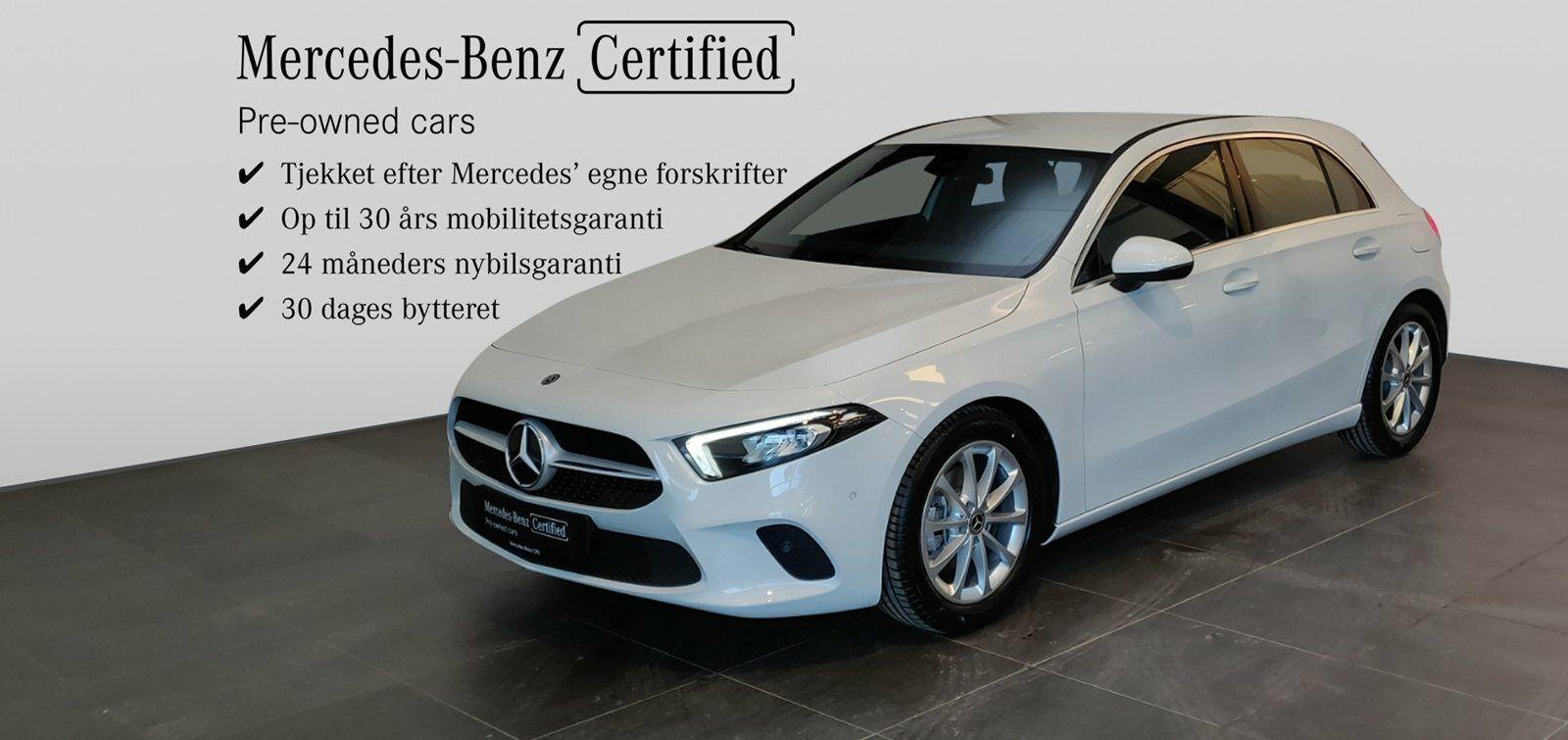 Mercedes A180 d 1,5 Advantage aut. 5d - 294.900 kr.