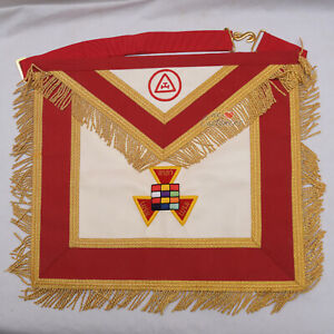 Royal-Arch-Past-High-Priest-PHP-Masonic-Regalia-Hand-Embroidered-Apron-WLC