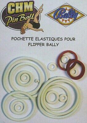 Humoristisch Pochette D'elastiques Pour Flipper Bally Rolling Stones Een Brede Selectie Kleuren En Motieven