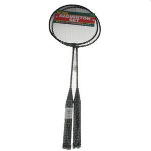Badminton Racket Set Family Summer Fun Shuttlecock Game Garden Outdoor 2 Player