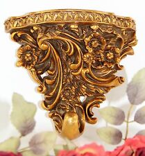Wandkonsole Barock Hängekonsole Wandregal Konsole Antik Stil Deko Blumen Ablage
