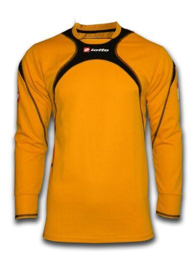 Lotto Taille Adulte Football Gardien De but Chemise Orange Noir-Personnalisé Imprimé disponible