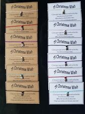 Wholesale * Bulk * Job Lot * A Christmas Wish Bracelet * Stocking Filler * Gift