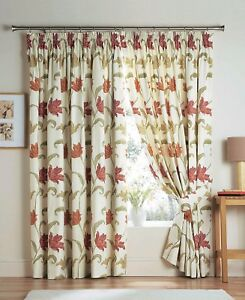Kinsale-3-034-Tape-Top-Fully-Lined-Curtains-In-Terracotta-Free-Tiebacks-Included