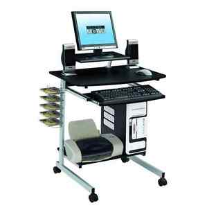 Small home office desk computer for small spaces compact laptop writing table ebay - Computer furniture for small spaces gallery ...