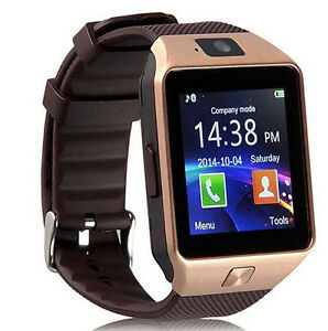 or-Bluetooth-montre-Smart-Watch-telephone-GSM-Carte-SIM-pour-Android-IOS-iPhone