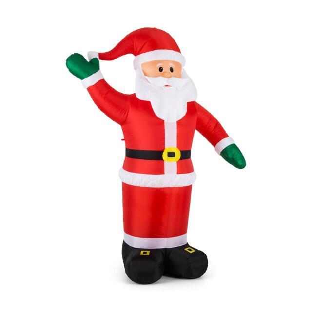 B Ware Weihnachtsmann Xxl Groß Weihnachten Weihnachtsdekoration Led Beleuchtet