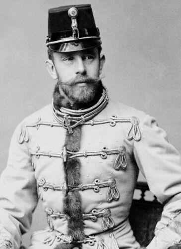 photo 10*15cm 4x6 INCH  Rodolphe d Autriche Prince heritier