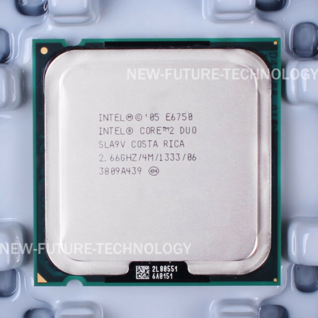 Intel Core 2 Duo E6750 (HH80557PJ0674MG) SLA9V CPU 1333/2.66 GHz LGA 775 100% OK