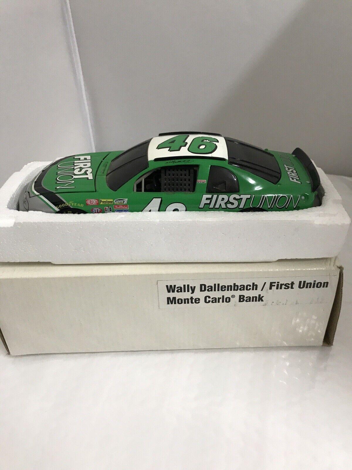 Action Wally Dallenbach 1:24 First Union 1997 Monte Carlo #46 Nascar Diecast Car