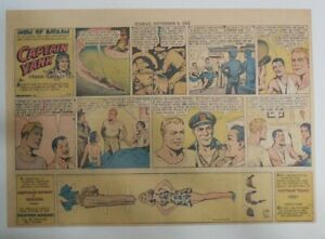Captain Yank Sunday by Frank Tinsley 11//5//1944 Size 11 x 15 inches Paper Doll !