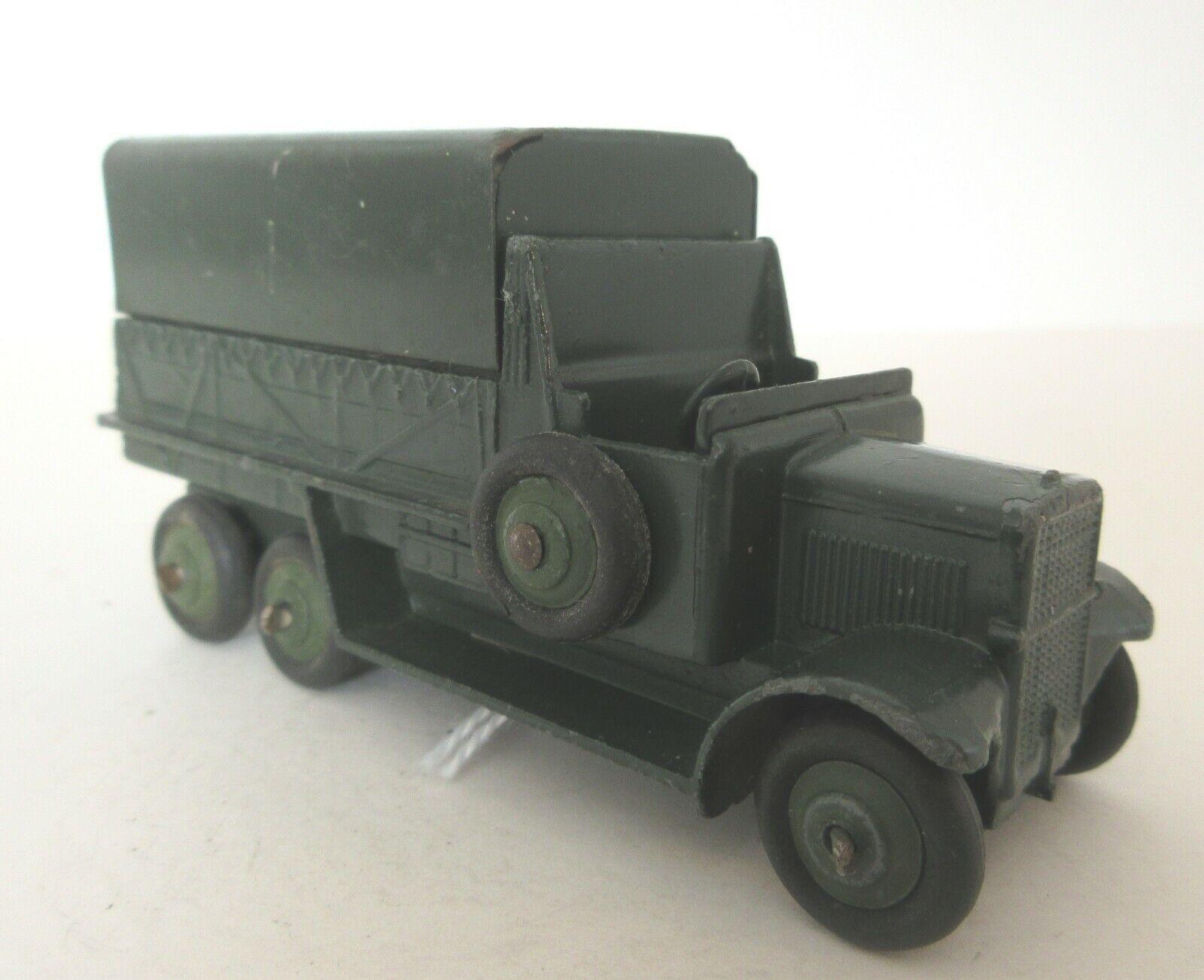Dinky Juguetes Ejército Militar 6 ruedas vagón cubierto Dinky Juguetes Militar Modelos (2)