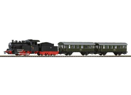 Piko HO 97920 Start-Set Personenzug mit Dampflok PKP Neuware