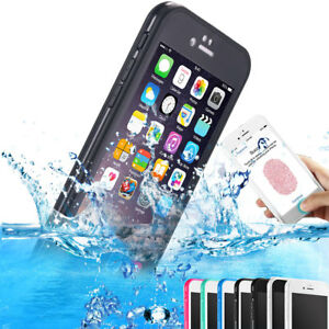 Waterproof-Shockproof-Hybrid-TPU-Phone-Case-Full-Cover-Fr-iPhone-X-7-6s-6-8-Plus