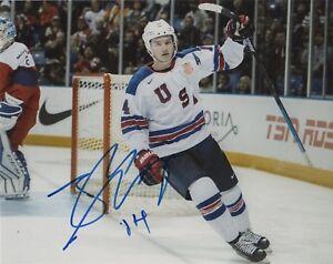 Team-USA-Josh-Norris-Signed-Autographed-8x10-Photo-COA-8