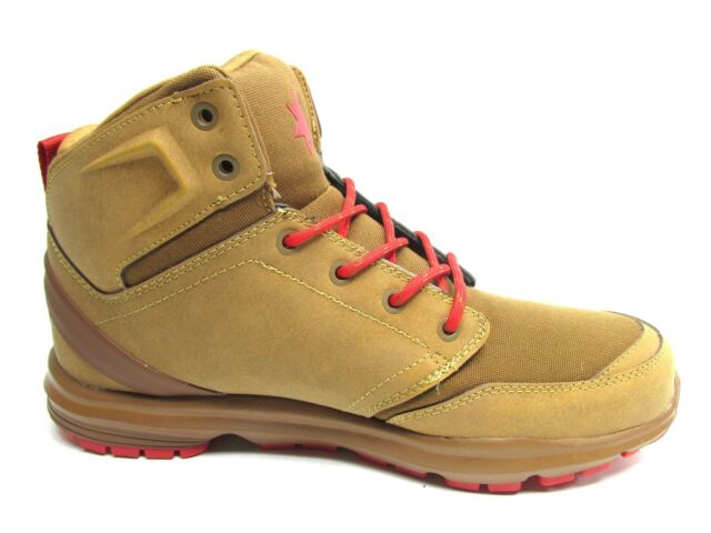 DC RANGER UNRESTRICTED TAN RED MEN SHOES SIZE 8.5, 9 & 10.5