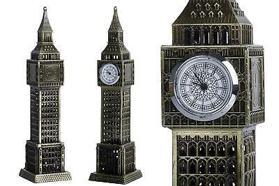 Big Ben Statue Figurine Christmas Gift London Bronze Home Decor Elizabeth Tower
