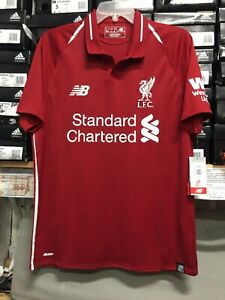 outlet store e4215 cbe63 Details about New Balance Liverpool Home Jersey Size XXXL Only Camiseta  Local De Liverpool
