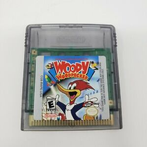 Woody Woodpecker (Nintendo Game Boy Color) GBC Authentic Tested