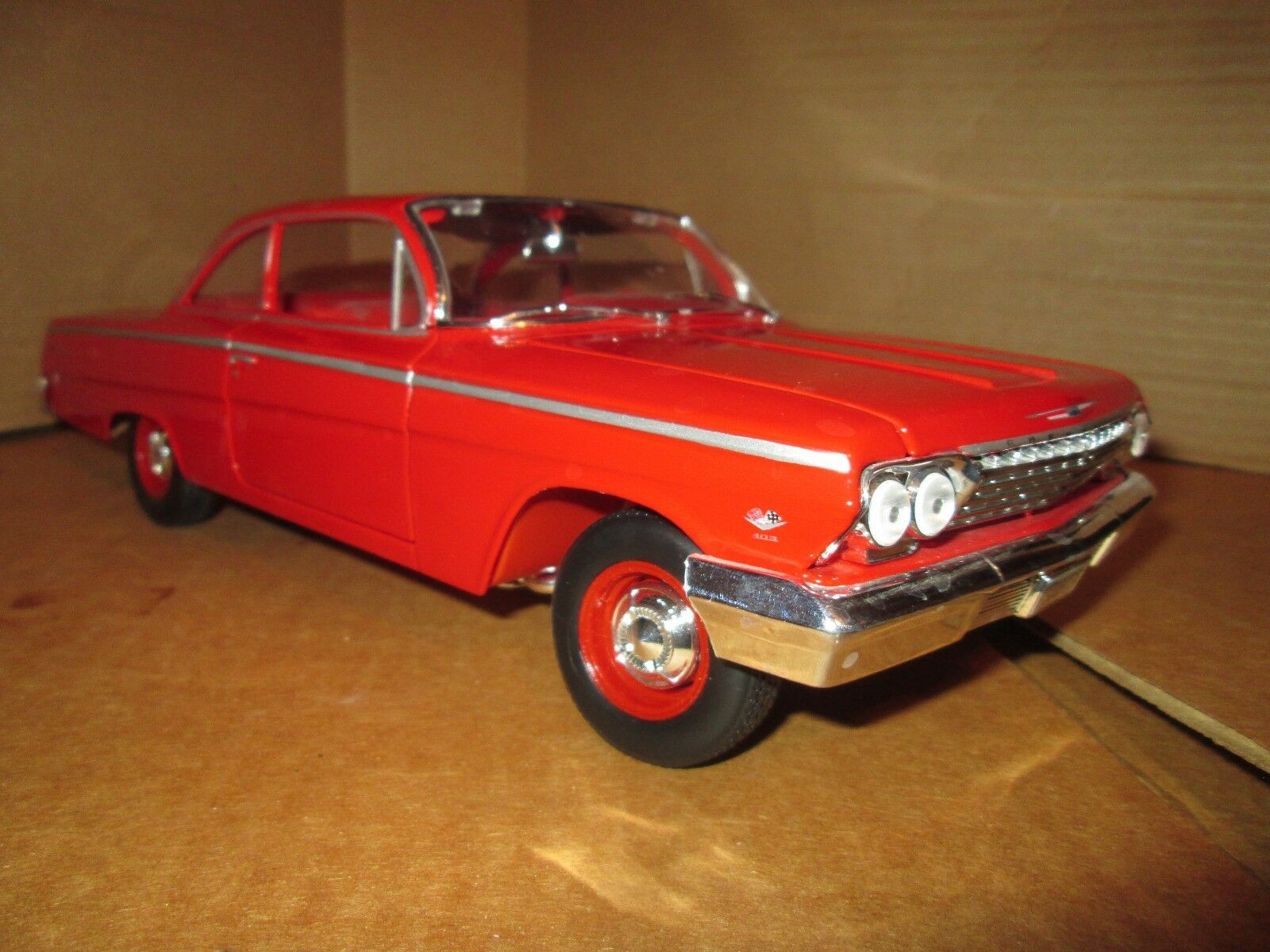 1962 chevy Belair red 1 18 maisto special edition working suspension wired engin