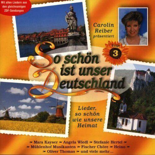 So schön ist unser Deutschland (1998) Mara Kayser, Angela Wiedl, Stefan.. [2 CD]