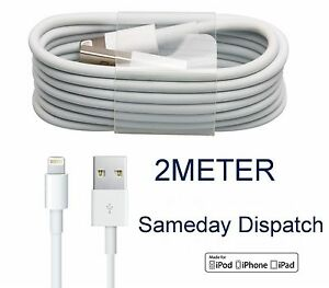 100-Genuine-2m-CE-Approved-iPhone-5-5c-5s-6-6s-7-7-USB-Charger-Data-Lead-Cable
