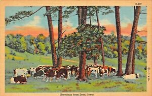 LEON-IOWA-GREETINGS-FROM-1945-POSTCARD-TO-SOUTHERN-STATES-CO-OP-RICHMOND-VA
