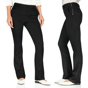 New-Next-Ladies-Office-Trousers-Bootcut-Mid-Waisted-Work-Formal-Smart-Plain