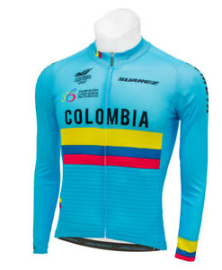 38f7803e1 Image is loading 2018-Suarez-Colombian-National-Fed-Long-Sleeve-Cycling-