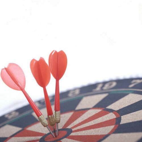 6 Pack Red /& Blue Steel Tip Brass Dart Set Plastic Dart Flight Throwing To/_me