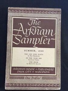 Resultado de imagen de The Arkham Sampler 1949