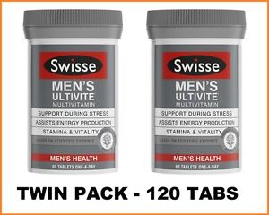 Swisse-Mens-Ultivite-2x60-Tablets-TWIN-PACK-120-Tabs-4-Months-Supply