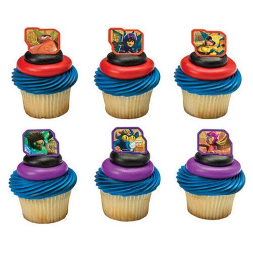 Big Hero 6-24 Cake Toppers