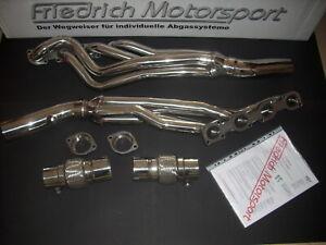 Header BMW e60 e61 e63 e64 e65 e66 545 550 645 650 745 750 Stainlees Steel New