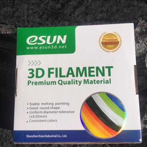 2 X eSUN CONDUCTIVE BLACK Filament 1.75mm 3D Printer 0.5KG-1lb Spool