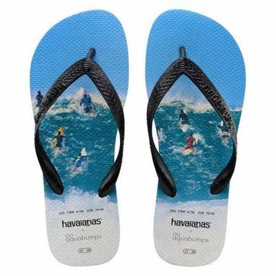 Havaianas Top Aqua Bumps Thongs, Flip Flops. Size 45-46 (13). RRP $39.99. NWT.