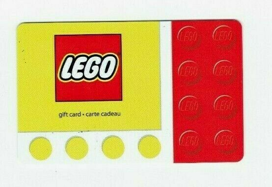 Lego Gift Card  - Building Blocks - Collectible / No Value - I Combine Shipping