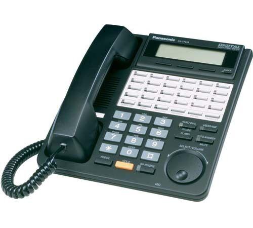 panasonic kx t7433 b digital 24 button speakerphone with 3 line rh ebay com panasonic kx-t7433 phone user manual Panasonic Phone KX-T7433 Manual