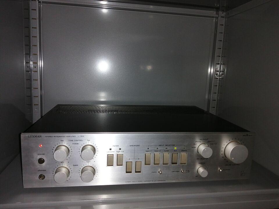 Forstærker, Luxman, L-116A